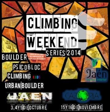 Climbing Weekend Jaen 2014
